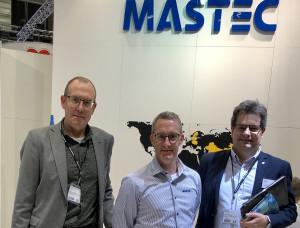 Elmi Subcontractor 2018. Leif Johansson, Andreas Rosén och Göran Berlemo