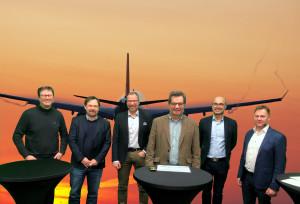 Webinar hållbart flyg bakgrund